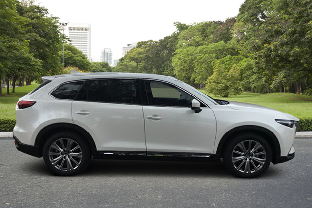 Demo Mazda CX-9 TC Azami LE SKYACTIV-Drive i-ACTIV AWD Paradise, 2021 Mazda CX-9 TC Azami LE SKYACTIV-Drive i-ACTIV AWD White Pearl 6 Speed Sports Automatic Wagon