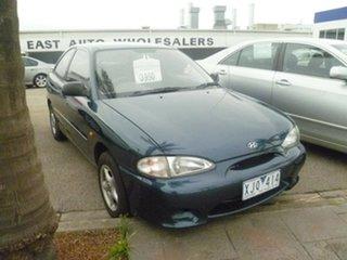 1999 Hyundai Excel X3 Sprint Twin Cam Blue 4 Speed Automatic Hatchback.