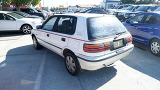 1991 Holden Nova LF GS White 4 Speed Automatic Hatchback