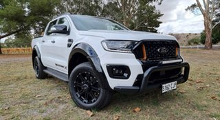 2021 Ford Ranger PX MKIII 2021.2 Wildtrak Arctic White 10 Speed Automatic Double Cab Pick Up.