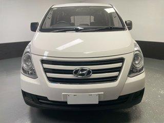 2017 Hyundai iLOAD TQ3-V Series II MY18 White 6 Speed Manual Van.
