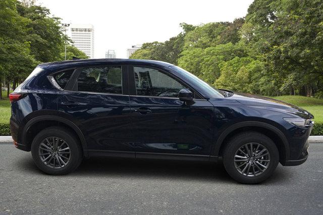 Demo Mazda CX-5 KF4WLA Maxx SKYACTIV-Drive i-ACTIV AWD Sport Paradise, 2021 Mazda CX-5 KF4WLA Maxx SKYACTIV-Drive i-ACTIV AWD Sport Deep Crystal Blue 6 Speed