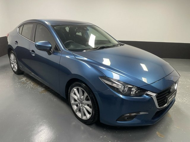 Used Mazda 3 BN5236 SP25 SKYACTIV-MT Rutherford, 2019 Mazda 3 BN5236 SP25 SKYACTIV-MT Blue 6 Speed Manual Sedan