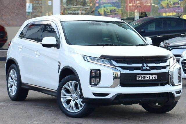 Used Mitsubishi ASX XD MY20 ES 2WD ADAS Rosebery, 2019 Mitsubishi ASX XD MY20 ES 2WD ADAS White 1 Speed Constant Variable Wagon
