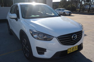 2016 Mazda CX-5 KE1032 Grand Touring SKYACTIV-Drive AWD White 6 Speed Sports Automatic Wagon.