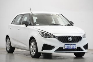 2020 MG MG3 SZP1 MY20 Core Dover White 4 Speed Automatic Hatchback