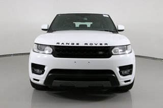 2015 Land Rover Range Rover LW MY15.5 Sport 3.0 SDV6 HSE Fuji White 8 Speed Automatic Wagon.