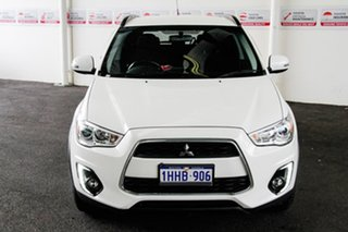 2016 Mitsubishi ASX XB MY15.5 LS (2WD) White Continuous Variable Wagon.