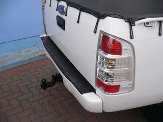2009 Ford Ranger PK XLT Crew Cab White 5 Speed Manual Utility.