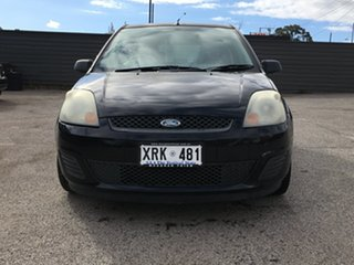 2007 Ford Fiesta WQ LX Black 5 Speed Manual Hatchback