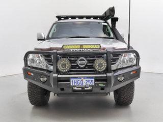2019 Nissan Patrol Y62 Series 4 MY18 TI (4x4) Silver, Chrome 7 Speed Automatic Wagon.