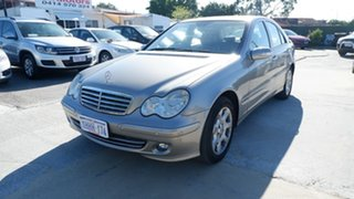 2006 Mercedes-Benz C-Class W203 MY2006 C180 Kompressor Classic Gold 5 Speed Automatic Sedan