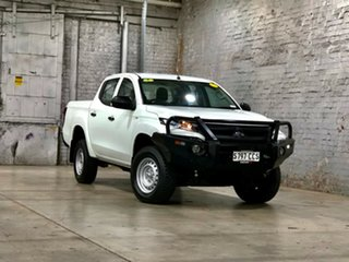 2019 Mitsubishi Triton MR MY20 GLX Double Cab White 6 Speed Manual Utility