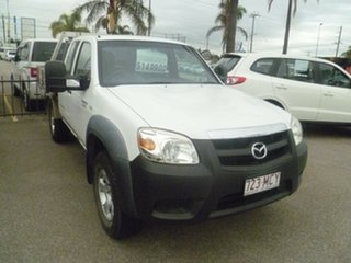 2010 Mazda BT-50 UNY0E4 DX+ Freestyle 4x2 White 5 Speed Manual Cab Chassis.