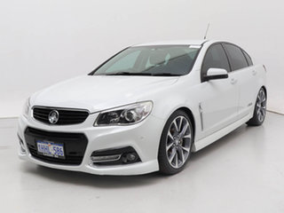 2014 Holden Commodore VF SS-V White 6 Speed Automatic Sedan.