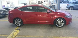 2017 Hyundai Elantra AD MY18 Elite Fiery Red 6 Speed Sports Automatic Sedan.