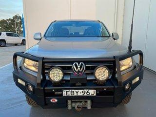 2013 Volkswagen Amarok 2H MY13 TDI400 4Mot Highline Beige 6 Speed Manual Utility.