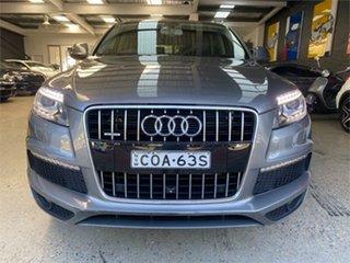 2013 Audi Q7 TDI Grey Sports Automatic Wagon.