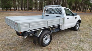 2020 Ford Ranger PX MkIII 2021.2 XL Hi-Rider Arctic White 6 Speed Automatic Single Cab Chassis