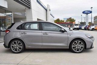 2020 Hyundai i30 PD.V4 MY21 N Line D-CT Silver 7 Speed Sports Automatic Dual Clutch Hatchback.