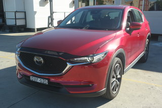 2018 Mazda CX-5 KF4WLA Akera SKYACTIV-Drive i-ACTIV AWD Soul Red 6 Speed Sports Automatic Wagon.