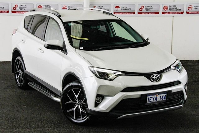 Pre-Owned Toyota RAV4 ZSA42R MY16 GXL (2WD) Myaree, 2015 Toyota RAV4 ZSA42R MY16 GXL (2WD) Crystal Pearl Continuous Variable Wagon