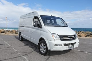 2016 LDV V80 Mid Roof LWB White 6 Speed Automated Manual Van.