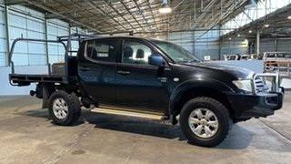 2009 Mitsubishi Triton MN MY10 GLX-R Double Cab 5 Speed Manual Utility.