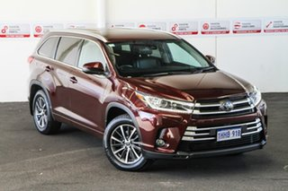 2019 Toyota Kluger GSU50R GXL 2WD Deep Red 8 Speed Sports Automatic Wagon.