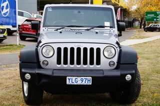 2014 Jeep Wrangler JK MY2014 Sport Silver 6 Speed Manual Softtop.