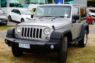 2014 Jeep Wrangler JK MY2014 Sport Silver 6 Speed Manual Softtop