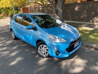 2015 Toyota Prius c NHP10R E-CVT Blue 1 Speed Constant Variable Hatchback Hybrid.