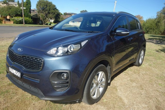Used Kia Sportage QL MY18 Si 2WD East Maitland, 2017 Kia Sportage QL MY18 Si 2WD Blue 6 Speed Sports Automatic Wagon