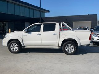 2011 Toyota Hilux KUN26R MY12 SR5 Double Cab White 4 Speed Automatic Utility