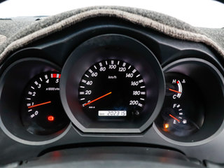 2008 Toyota Hilux KUN26R 08 Upgrade SR5 (4x4) Black 5 Speed Manual Dual Cab Pick-up