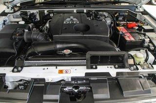 2017 Mitsubishi Pajero NX MY17 Exceed LWB (4x4) White 5 Speed Auto Sports Mode Wagon