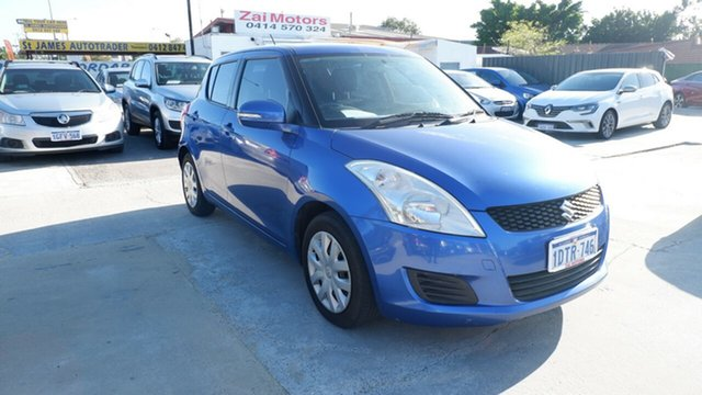 Used Suzuki Swift FZ GL St James, 2011 Suzuki Swift FZ GL Blue 5 Speed Manual Hatchback