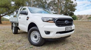 2020 Ford Ranger PX MkIII 2021.2 XL Hi-Rider Arctic White 6 Speed Automatic Single Cab Chassis.
