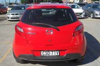 2014 Mazda 2 DJ2HAA Neo SKYACTIV-Drive Red 6 Speed Sports Automatic Hatchback