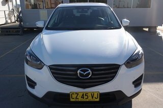 2016 Mazda CX-5 KE1032 Grand Touring SKYACTIV-Drive AWD White 6 Speed Sports Automatic Wagon