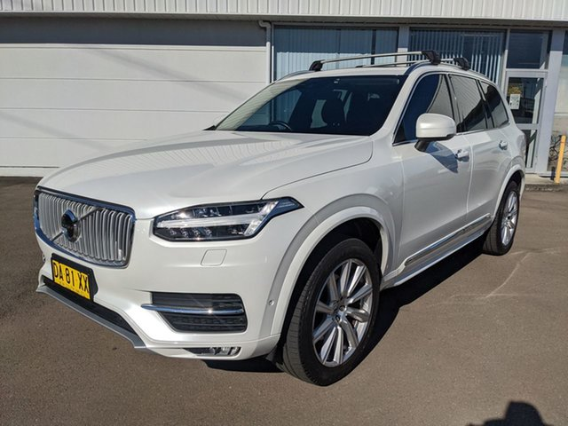Pre-Owned Volvo XC90 L Series MY16 D5 Geartronic AWD Inscription Cardiff, 2016 Volvo XC90 L Series MY16 D5 Geartronic AWD Inscription White 8 Speed Sports Automatic Wagon