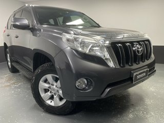 2017 Toyota Landcruiser Prado GDJ150R GXL Grey 6 Speed Manual Wagon.