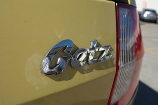 2007 Hyundai Getz TB MY06 Yellow 4 Speed Automatic Hatchback