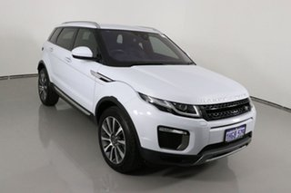 2017 Land Rover Range Rover Evoque LV MY17 TD4 180 HSE Yulong White 9 Speed Automatic Wagon