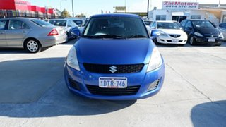 2011 Suzuki Swift FZ GL Blue 5 Speed Manual Hatchback.