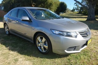 2012 Honda Accord Euro CU MY12 Silver 5 Speed Automatic Sedan.