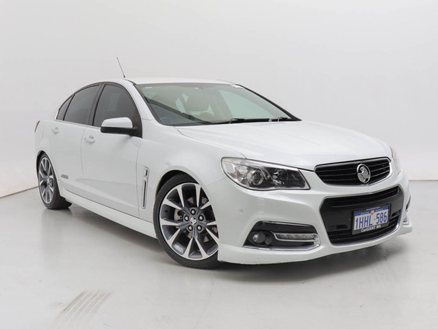 Used Holden Commodore VF SS-V, 2014 Holden Commodore VF SS-V White 6 Speed Automatic Sedan