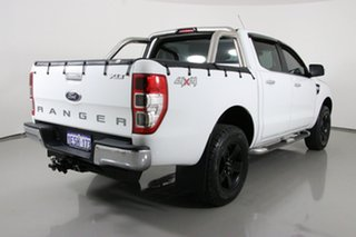 2014 Ford Ranger PX XLT 3.2 (4x4) White 6 Speed Manual Double Cab Pick Up