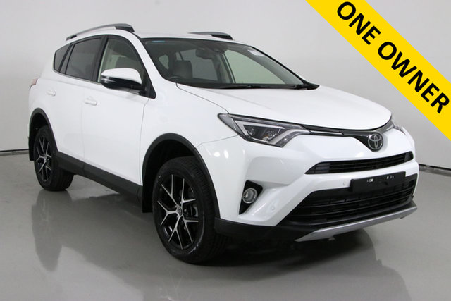 Used Toyota RAV4 ZSA42R MY18 GXL (2WD) Bentley, 2018 Toyota RAV4 ZSA42R MY18 GXL (2WD) White Continuous Variable Wagon