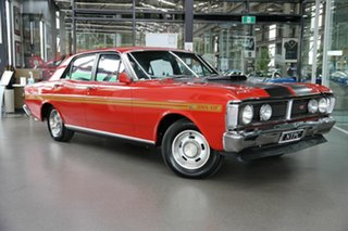1971 Ford Falcon XY GT Red 4 Speed Manual Sedan.